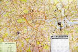 Distance Between Two Points Map Inside The London Where Cabbies Learn The Fabled Knowledge