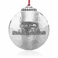 seattle seahawks ornament wendell august