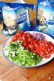 gluten free greek vegetable cold pasta salad recipe
