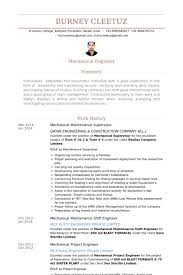 Sample Resume For Maintenance Engineer by Maintenance Supervisor Resume Samples Visualcv Resume Samples