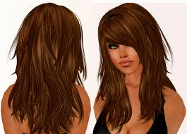 hairstyles for thick wavy long hair thick hair side fringe best
