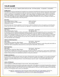 Resume Best Examples by Successful Resume Examples