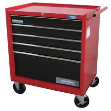 rolling tool storage cabinets kodiak 26 in 5 drawer rolling tool cabinet 74105 the home depot