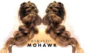 cutes aline hair cutest mohawk braid you ve ever seen easy hairstyles for