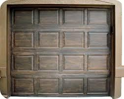 stained metal garage door remodel pinterest metal garage