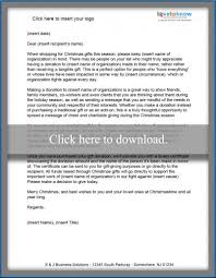 christmas donation letter templates lovetoknow