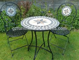 outdoor mosaic bistro table outdoor marble mosaic bistro set buy outdoor bistro set marble