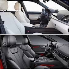 audi a4 2016 interior 2015 bmw 340i vs 2016 audi s4