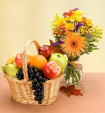 fruit flowers delivery the fruits flowers basket fruit gift baskets a thoughtful inside