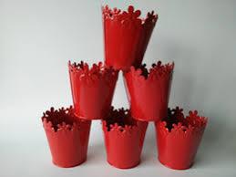 Cheap Small Flower Pots - rustic wholesale cheap outdoor garden colorful flower pots vintage