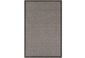 Grey Outdoor Rug 94x123 Outdoor Rug Mylos Check Brown Grey Living Spaces