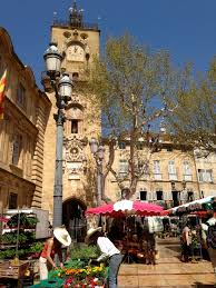 province france the flower market aix en province france i would like to go to