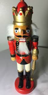 details about wood painted nutcracker world soldier collection