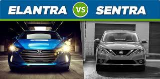 hyundai elantra vs 2017 hyundai elantra vs 2017 nissan sentra mcgrath auto cedar