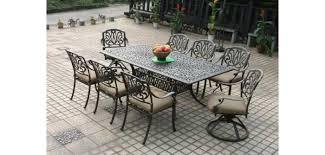cast iron patio dining set luxury wrought iron patio furniture