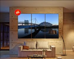 glasgow u0027s river clyde canvas art prints large wall art canvas