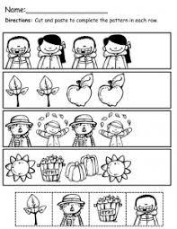 pattern worksheet for crafts and worksheets for preschool