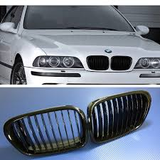 bmw grill amazon com 97 03 bmw e39 m5 5 series kidney grills grilles 518i
