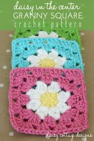 free pattern granny square afghan daisy granny square crochet pattern granny squares square