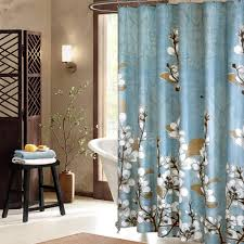 Brown And Teal Shower Curtain by Amazon Com Uphome Beautiful White Cherry Blossom Bathroom Shower