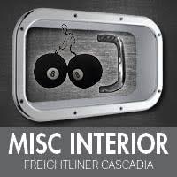 Freightliner Interior Parts Freightliner Cascadia Interior Accessories 4 State Trucks