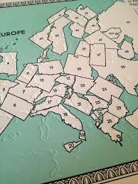 The 50 States Map by The 50 States Of Europe The Beauty Of Letterpress