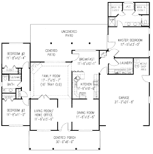 3 Bed 2 Bath Ranch Floor Plans by Ranch Style House Plan 3 Beds 2 Baths 1969 Sq Ft Plan 11 106 Main