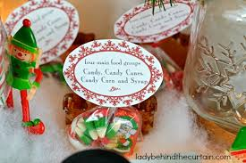 Christmas Party Treats - buddy the elf christmas party table
