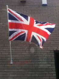Flag Pole Wall Mount 180cm 6ft Wall Mounted Flag Pole U0026 Union Jack Flag Cheaper Online