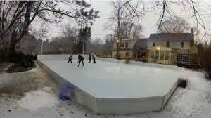Hockey Rink In Backyard by Crazy Backyard Installations They Put What In Their Backyards