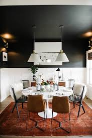 Leather Dining Room Chairs by Best 25 White Leather Dining Chairs Ideas On Pinterest