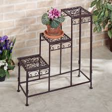 3 tier plant stand panacea f ed metal 3 tier plant stand 89193 the