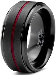 black male rings images Charming jewelers tungsten wedding band ring 10mm for men women jpeg