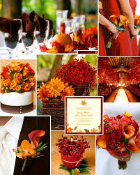 fall colors for weddings stand out in style with these 10 unique wedding color combos