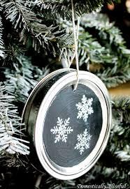 how to make chalkboard jar lid ornaments hometalk