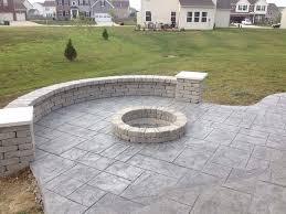 Concrete Firepits Concrete Pits In Decorative Concrete