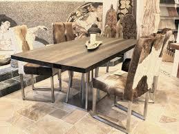 Esszimmertisch 200 X 120 Esstisch Holz Edelstahl Carprola For