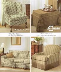 Chair And Ottoman Slipcovers Top 5 Sofa Slipcover Patterns Ebay
