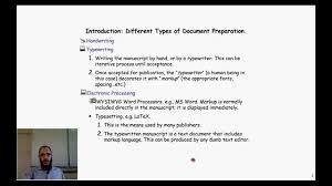 scientific paper writing software latex the professional tool for scientific writing youtube latex the professional tool for scientific writing