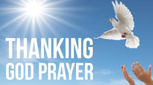prayer to thank god thanking thanksgiving for all blessings