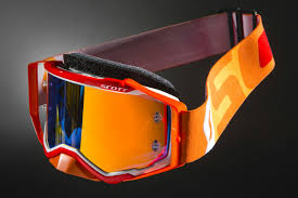 motocross goggles ebay new scott prospect mx orange chrome lens motocross goggle orange