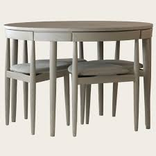 Modern Furniture Small Spaces by Round Table With Four Chairs Three Legs Would B Nice To Save