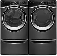 whirlpool wed97hedbd 27 inch 7 4 cu ft electric dryer with 10