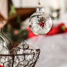 clear glass ornaments acrylic fillable ornaments craft