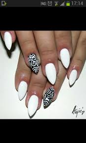 best 25 white almond nails ideas on pinterest nails