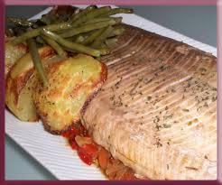 cuisiner un saumon entier ma papillote de saumon farci aux poivrons les douceurs créatives