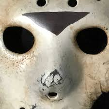 Jason Halloween Mask by Auz Jason Hockey Mask Part 7 Screen Accurate Replica Friday 13th