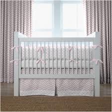 bedroom white wooden frame aqua and gray chevron baby chevron