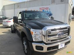 Ford F450 2015 2015 Tuxedo Black Ford F450 Super Duty Xlt Super Cab Chassis 4x4