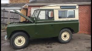 land rover safari for sale for sale 1965 series 2a landrover youtube